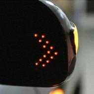 Повторитель поворота (LED) универсальный в зеркальный элемент Lada Vesta, Xray - 1 шт.