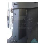 Защитные накладки на углы в багажник Лада Ларгус 5 мест