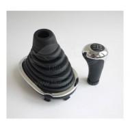 Тюнинг ручка КПП (ХРОМ) для Лада Ларгус рено логан лада ларгус рено сандеро ниссан альмера (платформа B0)