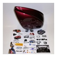 Аэродинамические накладки на боковое зеркало (191 ВЕНЕРА) LADA Largus | Renault Duster | Renault Logan | Sandero | Stepw