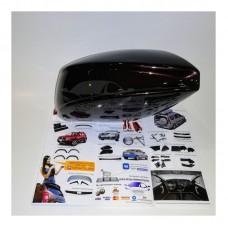 Аэродинамические накладки на боковое зеркало (283 КАШЕМИР) LADA Largus | Renault Duster | Renault Logan | Sandero | Stepway с 2012 г.в.