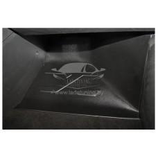 Накладка на ковролин пассажирская Лада Веста | LADA Vesta (АБС) с 2016 г.в.(1шт)