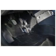 Накладки на ковролин центральные  на тоннель пола 2 шт. Renault Duster | Рено Дастер с 2011 г.в. по 2015