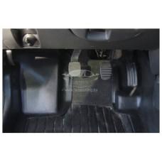 Накладки на ковролин передние с подпяточником 2 шт. Renault Duster   Рено Дастер с 2015 г.в. (рестайлинг)
