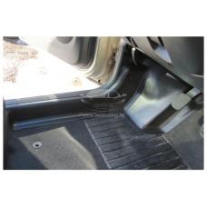 Накладки на ковролин передние с подпяточником 2 шт. Renault Duster | Рено Дастер с 2011 по 2015 г.в.