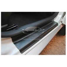 Накладки в проём дверей Рено Дастер | Renault Duster (4 шт) c 2011 г.в.