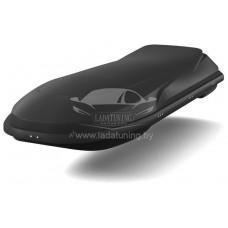Автобокс спортивный Cosmo EURO YUAGO (485 л.) Черный (тиснение)