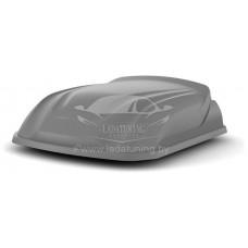 Автобокс LITE YUAGO ( 250 л.) (Багажник-Бокс) серый