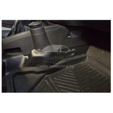 Накладки на ковролин центральные Лада Гранта | LADA Granta с 2011 г .в. (2 шт.)