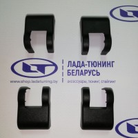 Накладки на ограничитель двери (4 шт.) Vesta, Logan 2, Sandero 2, Duster, Kaptur