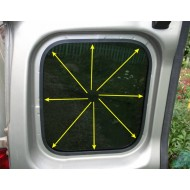 Резинка на стекла задних дверей Лада Ларгус | Lada Largus
