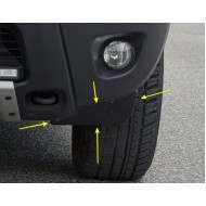 Аэродинамические щитки 2 шт. на Рено Дастер | Renault Duster