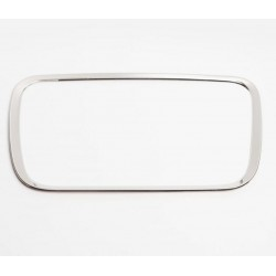 Рамка хром на ящик в центре торпедо под лобовым стеклом Рено Логан 2 | Renault Logan 2