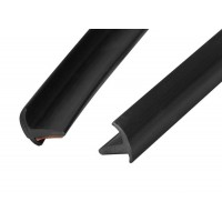 Водостоки (дефлектор лобового стекла) 2 шт. - 750 мм универсальный (Подходит для Xray)