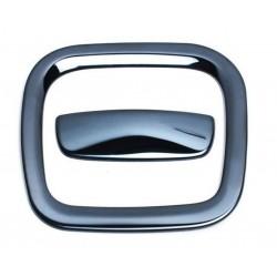 Накладка на ручку перчаточного ящика (Черный глянец) Лада Иксрей   Lada XRAY