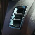 Накладка на верхние воздуховоды (Черный глянец) Лада Иксрей | Lada XRAY