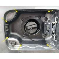 Облицовка горловины бензобака Лада Веста | Lada Vesta