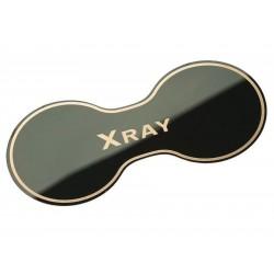 Накладка (черный глянец) в подстаканник Лада Х Рей из нержавеющей стали | Lada Xray