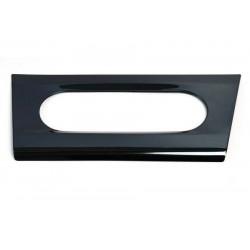 Накладка нерж. (черный глянец) облицовка блока управления климатом Лада Х Рей | Lada Xray