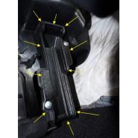 Заглушка салонного фильтра для Рено Логан 2, Сандеро 2, Степвей 2, 272763745R аналог | Renault Logan
