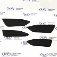 Вставки дверей с тканевой обивкой (комплект 4 шт.) Лада Веста | Lada Vesta