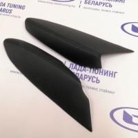 Подлокотники (2 шт.) передних дверей VTS Лада Веста (кожзам с Чёрной прострочкой) | Lada Vesta