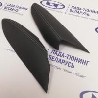 Подлокотники (2 шт.) передних дверей VTS Лада Веста (кожзам со Светло-серой прострочкой) | Lada Vesta