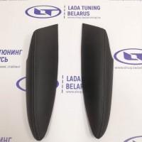 Подлокотники (2 шт.) задних дверей VTS Лада Веста Classic (кожзам с Тёмно-серой прострочкой) | Lada Vesta