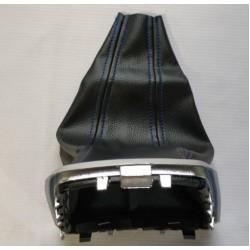 Кожух рычага КПП (синяя нить) с хром облицовкой Лада Веста | Lada Vesta