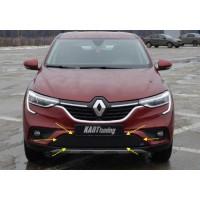 Зимняя защита радиатора для Рено Аркана  1.6 (H4M) | Renault Arkana
