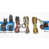 Установочный (монтажный) комплект проводки со штатной кнопкой для подключения ПТФ (противотуманных фар) для Лада Гранта, Калина, Dutsun mi-DO, On-DO | Lada Granta FL, Kalina 2
