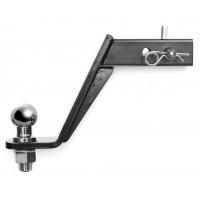 Кронштейн 50x50 для фаркопа универсальный усиленный №190 в сборе (TOW990103)