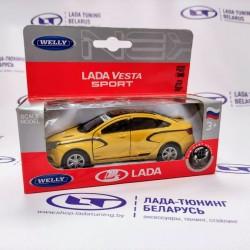 Модель коллекционная металлическая Лада Веста Спорт | Lada Vesta Sport