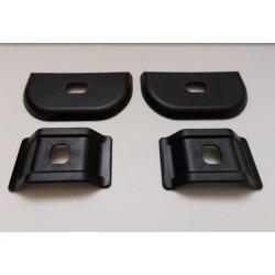Накладки под салазки (4 шт. под 2 кресла) для Лада Ларгус, Рено Логан, Сандеро, Дастер