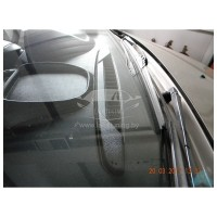 Дефлектор решетки обогрева (обдува) лобового стекла Лада Ларгус, Рено Логан Ф1 и Ф2, Рено Сандеро