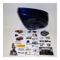 Аэродинамические накладки на боковое зеркало (424 ДИПЛОМАТ) LADA Largus | Renault Duster | Renault L