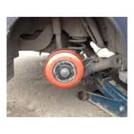 Накладки на тормозные барабаны 2 шт. (в цвет авто) для Лада Ларгус, Рено Докер