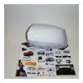 Аэродинамические накладки на боковое зеркало (221 ЛЕДНИКОВЫЙ) LADA Largus | Renault Duster | Renault