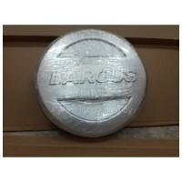 Колпак-Чехол (СЕРЕБРИСТЫЙ) на запасное колесо ЛАДА ЛАРГУС R15 c надписью LARGUS