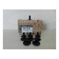 Клипса пистон крепления ковролина (1 шт.) для Лада Ларгус, Веста, Xray 7703077117