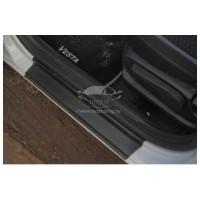Накладки в проем дверей (комплект 4 шт.) Лада Веста | Vesta CROSS | LADA Vesta седан и универсал SW