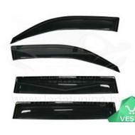 Дефлекторы окон накладные (4 шт) Лада Веста универсал СВ/СВ Кросс (Cobra широкие Евростандарт)