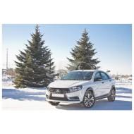 Cross-комплект для LADA Vesta SW и Sedan. Накладки на арки и пороги  | Лада Веста седан и универсал с 2016 г.в. (10 шт.)
