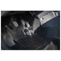 Накладки на ковролин центральные  на тоннель пола 2 шт. Renault Duster | Рено Дастер с 2011 г.в. по
