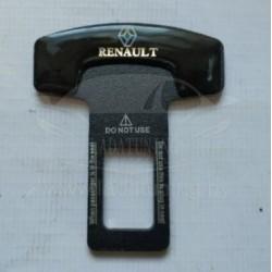 Заглушка замка ремня безопасности с эмблемой Renault