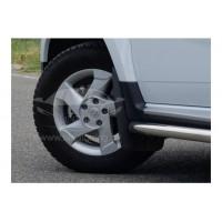 Брызговики ДАСТЕР-ГАРД передние увеличенные Renault Duster с 2011 г.в.