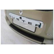 Накладка на задний бампер Рено Дастер | Renault Duster  с 2011