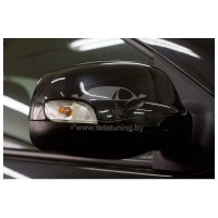 Накладки на зеркала Рено Логан | Renault Logan с 2012 г.в. (в цвет автомобиля)