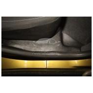 Накладки на ковролин задние 2 шт. (АБС) Renault Sandero | Stepway с 2014 г.в