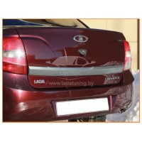 Молдинг двери багажника (в цвет автомобиля) Лада Гранта с 2011 г.в.